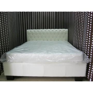 κρεβάτι δερμάτινο