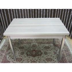 τραπέζι επεκτεινόμενο με inox πόδια