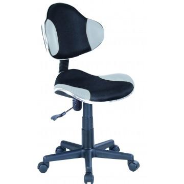παιδική καρέκλα γραφείου με ρόδες σε σχήμα bucket αγωνιστικού αυτοκινήτου.