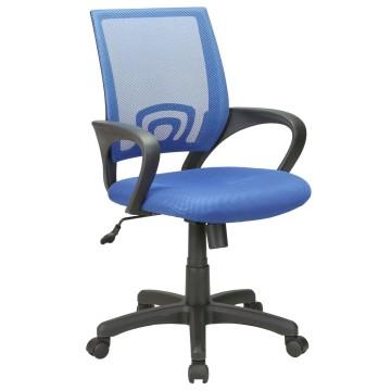 Γραφείου πολυθρόνα με μπράτσα και ανατομική πλάτη.