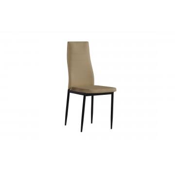 καρέκλα με ψηλή πλάτη και τεχνοδερμα