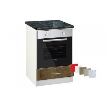 Ντουλάπι Κουζίνας επιδαπέδιο για εντοιχιζόμενη κουζίνα Luxury 601F Genomax 4650