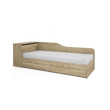 Κρεβάτι μονό μπαούλο City 5 Genomax 82/190 3401