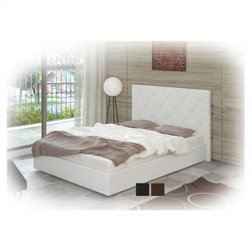 Κρεβάτι ημίδιπλο δερματίνη 120/190 Ahat Genomax 5293