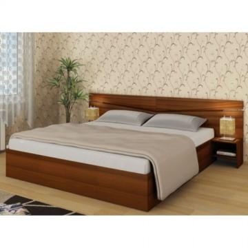Κρεβάτι διπλό μπαούλο 160/200  με 2 κομοδίνα City 108 Genomax
