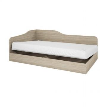 Κρεβάτι μπαούλο μονό 82/190 City 4  Genomax 3428
