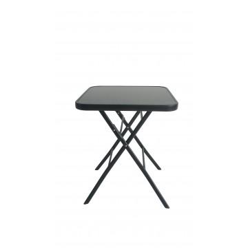 τραπέζι τετράγωνο πτυσσόμενο εξωτερικού χώρου