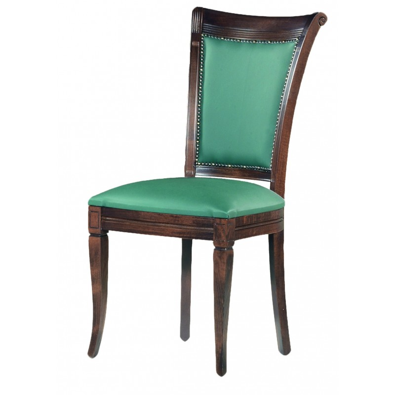 κλασική καρέκλα τραπεζαρίας με καμπαρα
