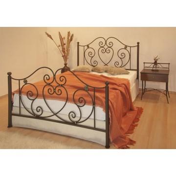 κρεβάτι μεταλλικό διπλών διαστάσεων