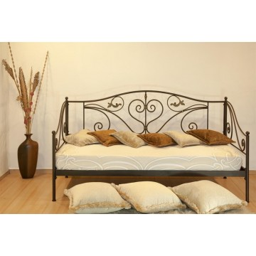 μεταλλικός καναπές κρεβάτι