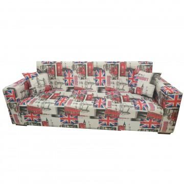 Καναπές κρεβάτι LONDON με αποθηκευτικό χώρο με δυνατότητα αλλαγής διαστάσεων