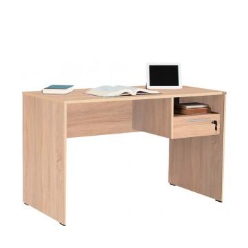 Γραφείο φυσικο sonoma 120x60x75 συρτάρι με κλειδαριά και βοηθητικό χώρο για φορητό υπολογιστή