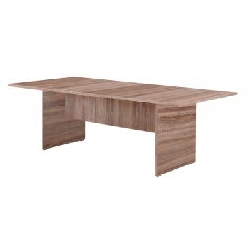 Τραπέζι συνεδριάσεων γραφείου σταχτί χρώμα 240x110x75 εκ