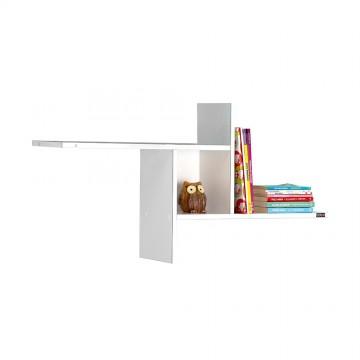 Ράφι τοίχου πολυμορφικο λευκό 100x18x50 εκ