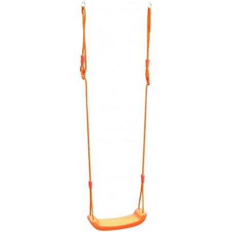 Κάθισμα Παιδική κούνια κρεμαστή πορτοκάλι χρώμα 44x17x7.5cm