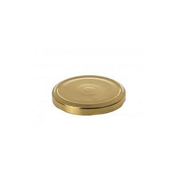 Καπάκι Φ82 χρυσό για βάζα...