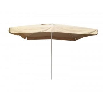 Ομπρέλα κήπου αλουμινίου 4*4 εκρου μπεζ πανί