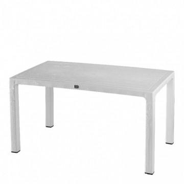 Τραπέζι πλαστικό πολυπροπυλενίου με ανάγλυφο σχέδιο φυσικού ξύλου