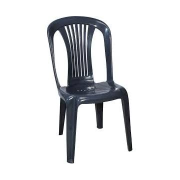 πλαστική καρέκλα Βιένης γκρι χωρίς μπρατσα για εκδηλώσεις