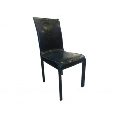καρέκλα τραπεζαρίας με ντυμένα πόδια