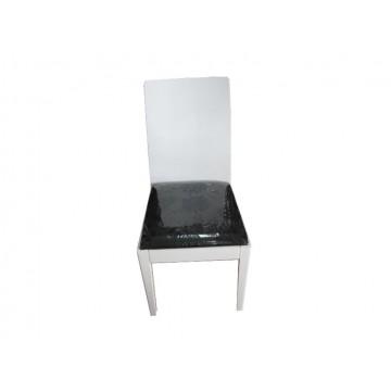 καρέκλα τραπεζαρίας ξύλινη λακαριστή