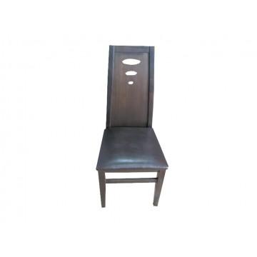 καρέκλα τραπεζαρίας ξύλινη τύπου δρύινη