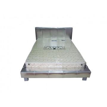 κρεβάτι δερμάτινο ιμηδυπλο 120 x 200 cm
