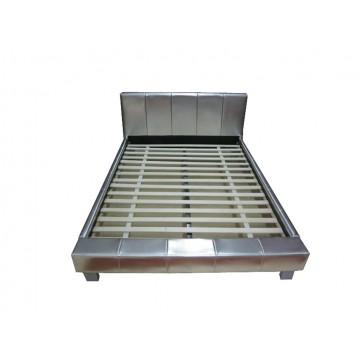 κρεβάτι δερμάτινο 150 x 200 x 91 cm