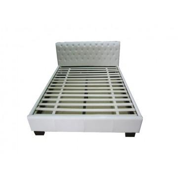 κρεβάτι δερμάτινο 120 x 200 x 91 cm