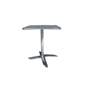τραπέζι με βάση αλουμινίου