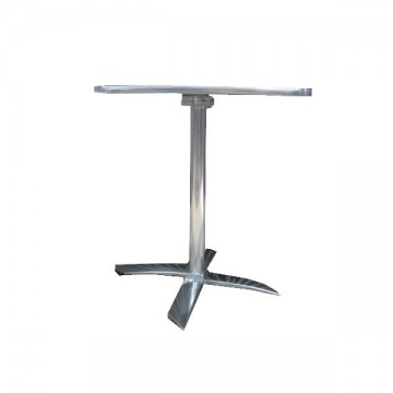 τραπέζι με αλουμινίου βάση πτυσσόμενο