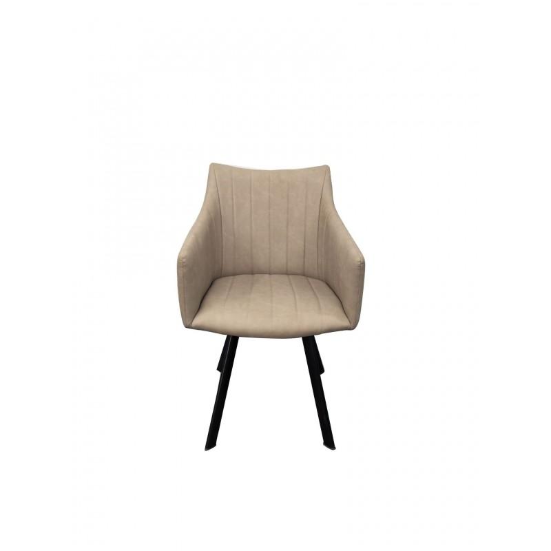 Πολυθρόνα για καφετερία με μπεζ PU