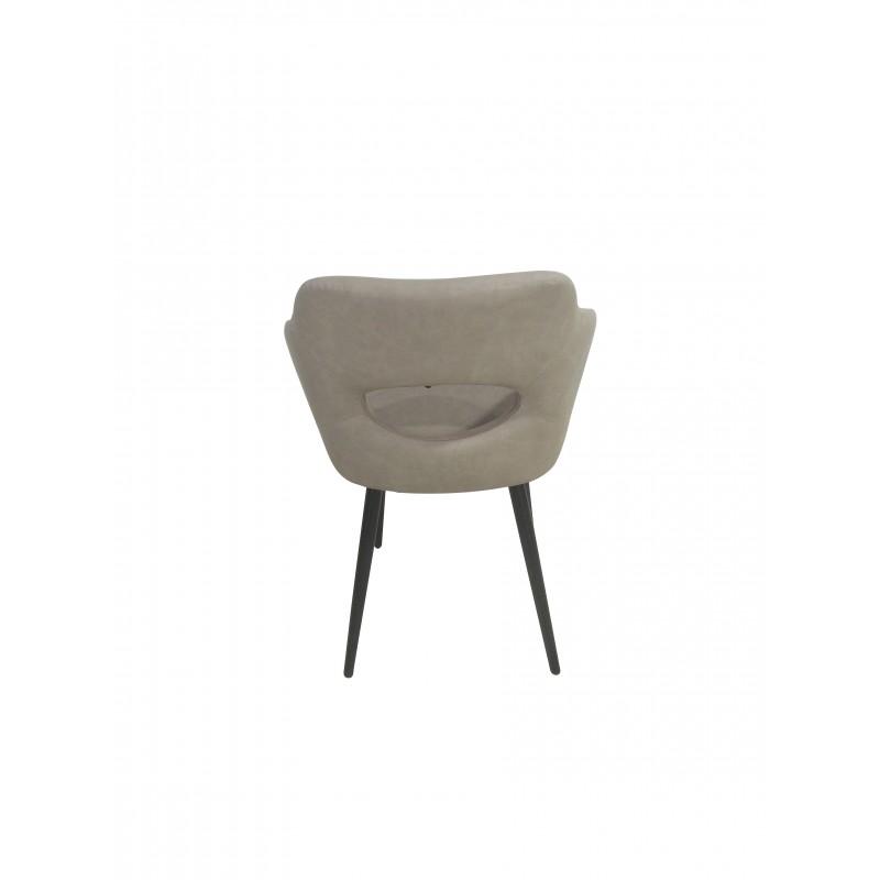 Πολυθρόνα τυπου σαλονιου με μπεζ  PU