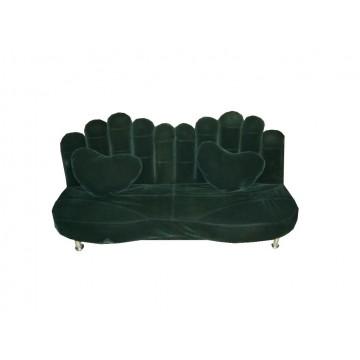 καναπές κρεβάτι  χέρι σε χρώμα πράσινο