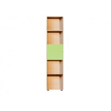ΠΑΙΔΙΚΗ ΒΙΒΛΙΟΘΗΚΗ ΜΟΝΗ ΣΕ ΧΡΩΜΑ ΣΟΝΑΜΑ/ΠΡΑΣΙΝΟ 40x30x180