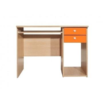 Παιδικό γραφείο σε χρώμα δρυς-πορτοκαλί 80x55x100