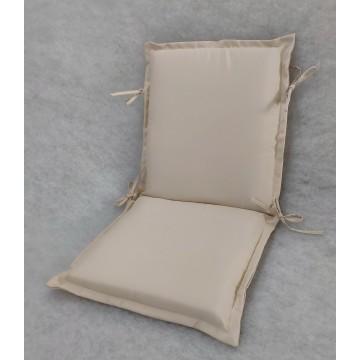 Μαξιλάρι εξωτερικου χώρου με επένδυση από αδιάβροχο υφασμα σε χρώμα μπεζ