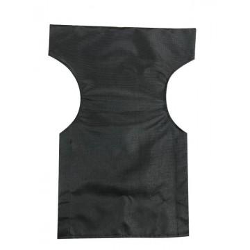 Ανταλλακτικό μαξιλάρι μονοκόμματο για πολυθρόνα σκηνοθέτη από διάτρητο PVC υψηλής ποιότητας, σε μαύρο χρώμα.